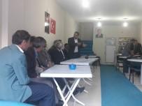 MEHMET ÖZCAN - Kaymakam Ve Belediye Başkan Vekili Özcan'dan AK Parti Teşkilatına İadeyi Ziyaret