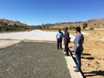 ARİF KARAMAN - Kaymakam Ve Belediye Başkan Vekili Özkan, Yolalan'da Ki Çalışmalarını Yerinde İnceledi