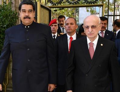 Maduro'dan Kahraman'a ziyaret