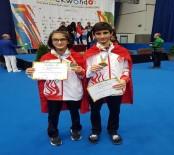 İBRAHIM UĞUR - Milli Tekvandoculardan 2 Altın Madalya