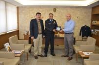 MEHMED ALI SARAOĞLU - Müdür Şenol Bezek'ten, Belediye Başkanı Saraoğlu'na Veda Ziyareti