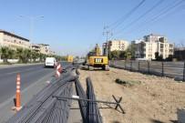 KURUÇAY - Turgutlu Kavşak Projesinde Altyapı Çalışmaları Başladı
