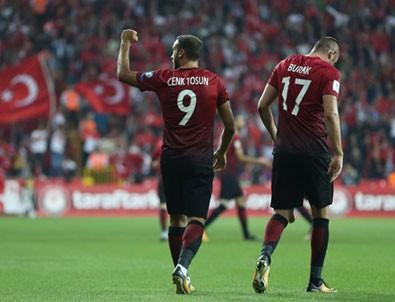 Türkiye-İzlanda maçı muhtemel 11'leri