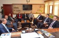 ÇEVRE SORUNLARI - Vali Aksoy'dan Başkan Toltar'a Ziyaret
