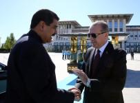 VENEZUELA - Venezuela Devlet Başkanı Nicolas Maduro Cumhurbaşkanlığı Külliyesinde