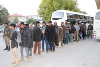 Yakalanan 64 Mülteci Serbest Bırakıldı