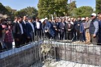 CUMHURİYET MEYDANI - Yunusemre Belediye Meydan Camisi'nin Temeli Törenle Atıldı