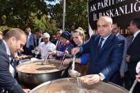 SELÇUK ÖZDAĞ - AK Parti Manisa İl Başkanlığından 2 Bin 500 Kişilik Aşure İkramı