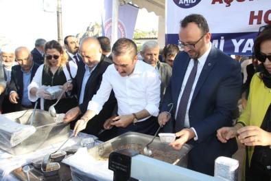 AHİD binlerce Ankaralı'ya aşure dağıttı! (Video)