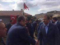 ŞEHİT BABASI - Başbakan Yardımcısı Çavuşoğlu'ndan Şehit Ailesine Ziyaret