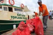 BODRUM BELEDİYESİ - Bodrum'da Tatilcilerden Geriye 170 Çuval Çöp Kaldı