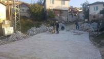 YEŞILDERE - Çavdarhisar'da 13 Köye, İmece Usulü Kilitli Parke Taşı