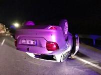 Çorum''da Trafik Kazası  Açıklaması 2 Yaralı