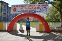 MURAT KAYA - Elbistan Ultra Maratonu Sona Erdi Açıklaması 5 Saat 44 Dakikada Koştu