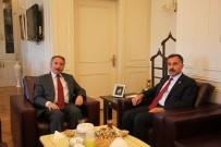 ADALET VE KALKıNMA PARTISI - İl Başkanı Aydın, Rektör Karabulut'u Ziyaret Etti
