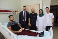 KAN GRUBU - İş İçin Geldiği Diyarbakır'da Aradığı Böbreği Buldu