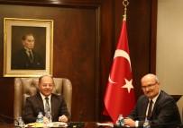 TEKNOPARK - Kıbrıslı Sanayiciler Başbakan Yardımcısı Akdağ'ı Ziyaret Etti