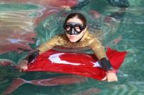 ADEM KILIÇCI - Milli Dalgıç Şahika Ercümen'den Antik Havuz Dalışı