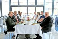 İSTİŞARE TOPLANTISI - Narven'in Mimarı Kendi Projesini Ziyaret Etti