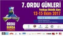 ORDU GÜNLERİ - Ordu Tanıtım Günleri İstanbul'da