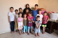 MUSUL - Savaştan Kaçan Şeyme, 16 Çocukla Tek Odalı Evde Kalıyor