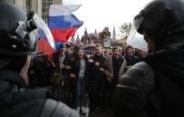 MEDYA ÇALIŞANLARI - Rusya'da Muhalefet Liderine Destek İçin İzinsiz Gösteri