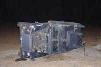 ÖZEL HAREKET - Şanlıurfa'da Polislerin Bulunduğu Araç Takla Attı Açıklaması 2 Yaralı