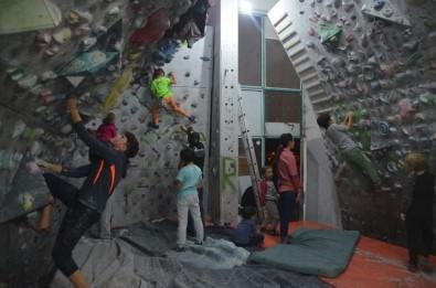 Tırmanış sporuna ilgi büyüyor
