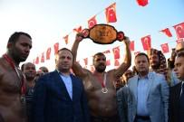 RECEP KARA - Tokat'ta Recep Kara Altın Kemerin Sahibi Oldu