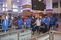 HAZIRLIK MAÇI - Trabzonspor, Katar'a gitti