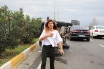 GAZI BULVARı - Trafik Kazası Geçiren Nişanlısını Göremeyince Yüreği Ağzına Geldi
