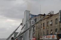 Ankara'da Mobilya Atölyesindeki Yangın