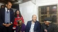 ŞEHİT BABASI - Bakan Soylu'dan Şehit Ailesine Ziyaret