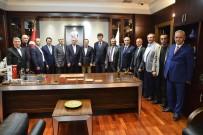 RUMELİ TÜRKLERİ - Balkan Rumeli Türkleri'nden Başkan Ataç'a Ziyaret