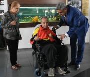 NAZİLLİ BELEDİYESPOR - Başkan Alıcık, Eski Futbolcuya Engelli Aracı Hediye Etti
