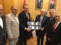 ÜLKÜCÜLER - Başkan Sözlü'den Bahçeli'ye Kerkük Ve Musul Plakaları