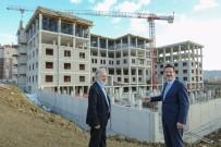 YÜRÜYEN MERDİVEN - Başkan Tok, Yeni Belediye Hizmet Binasındaki Çalışmaları İnceledi