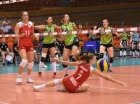 DINAMO BÜKREŞ - Büyükşehir'in Sultanları, Bulgaristan'dan Şampiyon Döndü