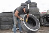 OSMAN YıLDıRıM - Eski Araç Lastikleri Enerjiye Dönüştürülüyor