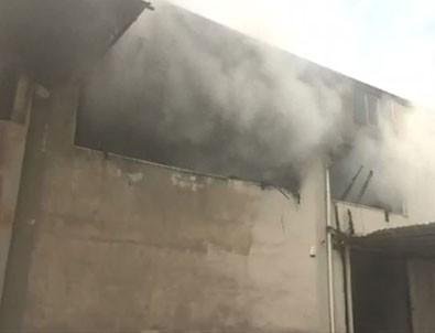İstanbul Hadımköy'de lojistik deposunda yangın!