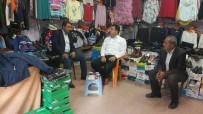 MEHMET ÖZCAN - Kaymakam Özcan, Esnaf Ziyaretinde