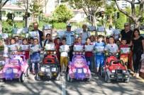 TRAFİK EĞİTİMİ - Muratpaşa'da Trafik Parkı'nda Eğitime Devam