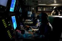 YANGIN TATBİKATI - Mayın Avlama Gemileri Düşmana Korku Salıyor