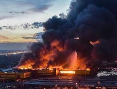 Rusya'da büyük yangın
