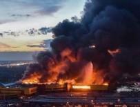 YANGIN FACİASI - Rusya'da büyük yangın