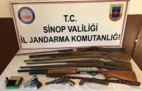 Sinop'ta Kaçak Silah Operasyonu