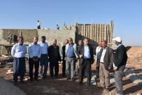 GÖÇERI - 27 Köy İçin 500 Tonluk Su Deposu Yapılıyor