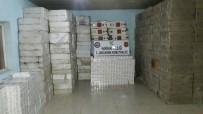 473 Bin 980 Paket Kaçak Sigara Ele Geçirildi