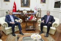 GENEL SAĞLIK SİGORTASI - Bakan Demircan, AND Parlamentosu Başkanı Moncada İle Görüştü
