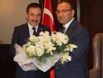 HİLMİ YAMAN - Başbakan Yardımcısı Bekir Bozdağ, Başkan Hilmi Yaman'ı kabul etti